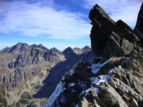 View from Gankova Pass