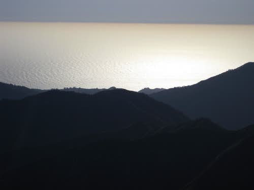 Pacific Ocean from summit
