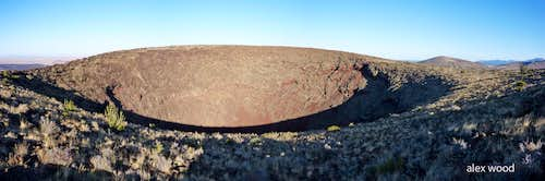 SP Crater Panorama