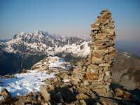 Alta Mountain Summit Cairn
