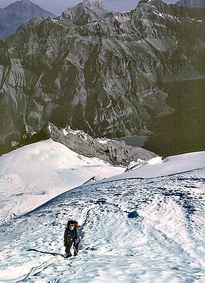 Rinderhorn, North Ridge