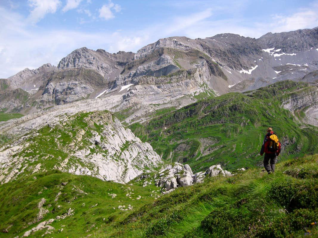 Voie originale de l 39 y climbing hiking mountaineering for Miroir d argentine