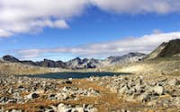 Bishop Pass Change of Season