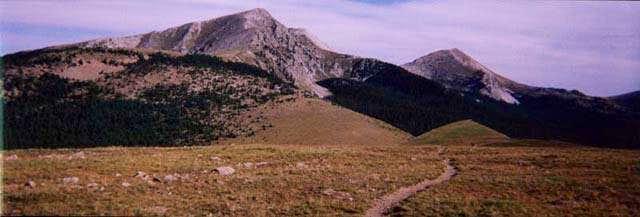 South Truchas Peak - Southern...