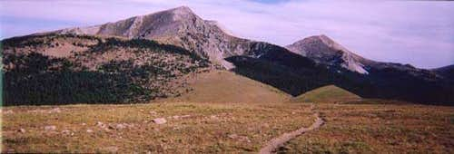South Truchas Peak - Southern...