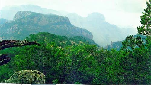 High Chisos mountains