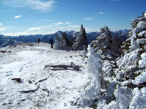 False summit of Elk Mountain