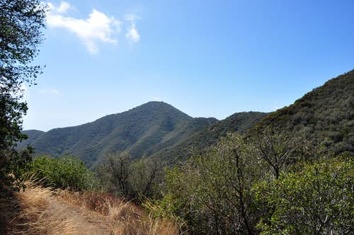 Montecito Peak seen from the top...