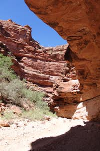 Trail to Supai village