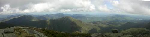 View from the summit of Mount...
