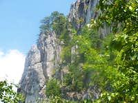 Rock Climbing View