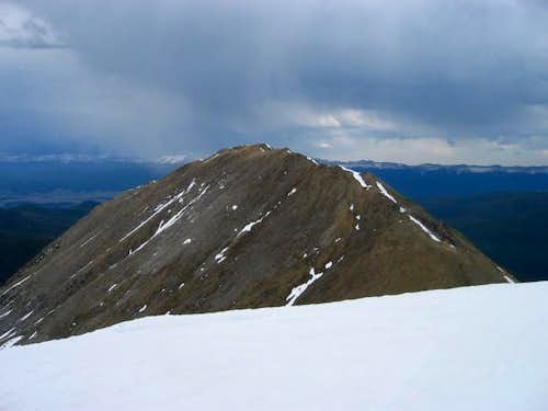 Byers Peak from Bills Peak\'s...