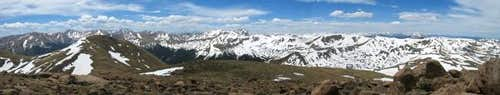 Panorama view from the summit...