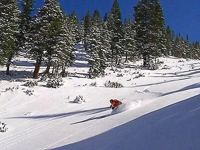 1st Powder Turns of the 2009-2010 Ski Season
