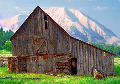 rustic beauty along Hwy 12