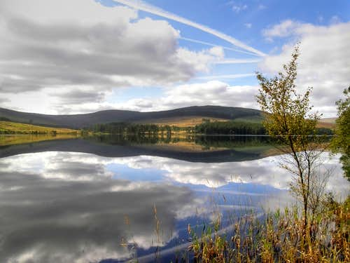 Perfect reflections - Catcleugh Reservoir