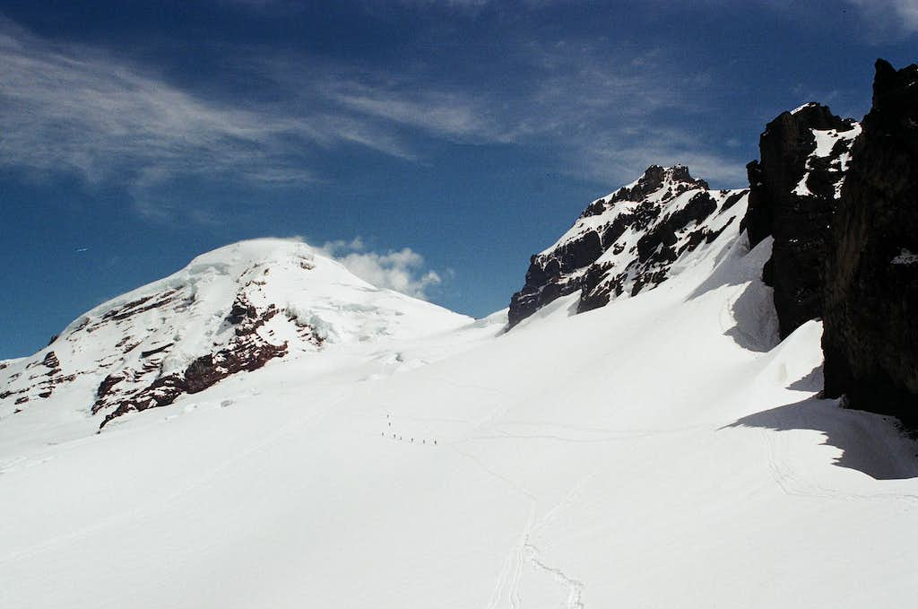 Down from the Col
