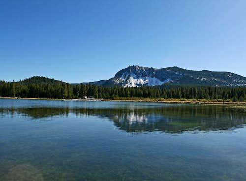 Paulina Peak from Paulina Lake