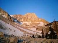 Imposing view of Mount...