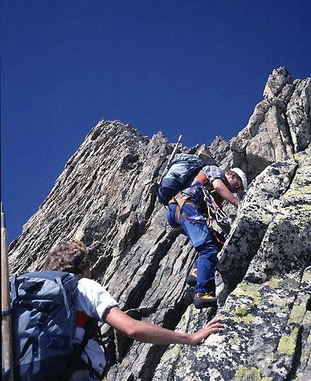 Hiendertelltihorn East Ridge