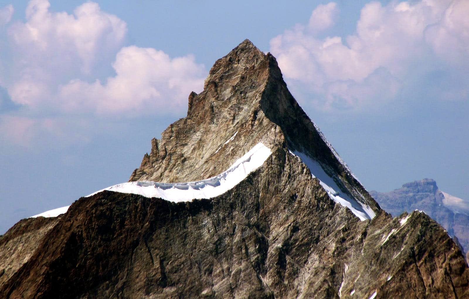 <font color=blue>▲</font>The famous 4000m in the Aosta Valley and the normal route or no (Valpelline Valley)