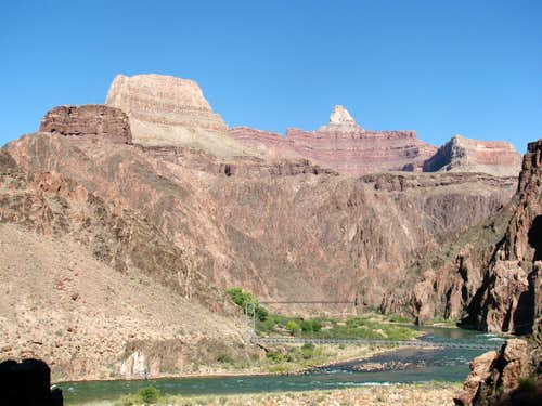 Buddha Temple and the Colorado River