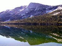 Tenaya peak reflecting off...