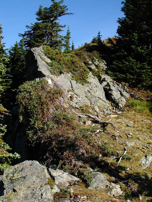 Mount Kent Summit Ridge