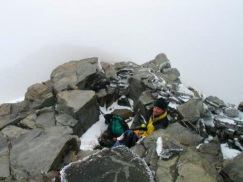 Freezing on Mt. Rose