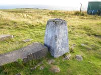 Deadwater Fell - OS-Trig point 569 metres