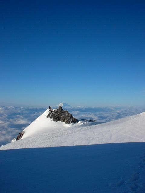 Camp Muir & Mt. Adams from...