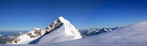 Panorama from Lysjoch