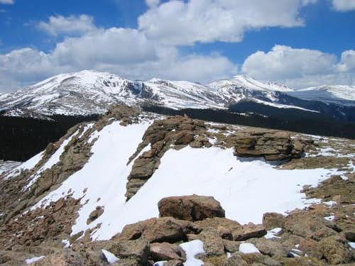 Mount Evans Massif from...