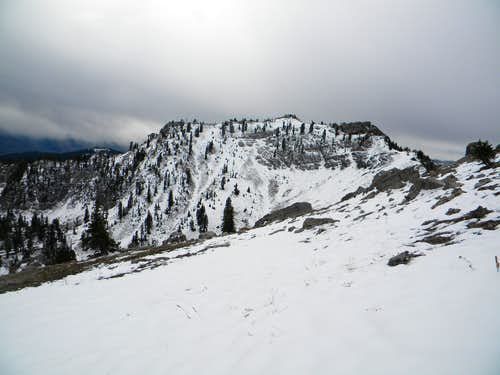 North Ridge of Naomi