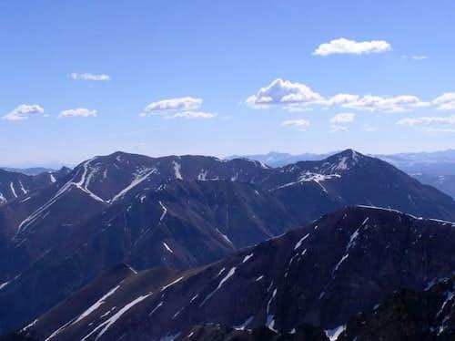 5 June 2004 - Redcloud Peak...