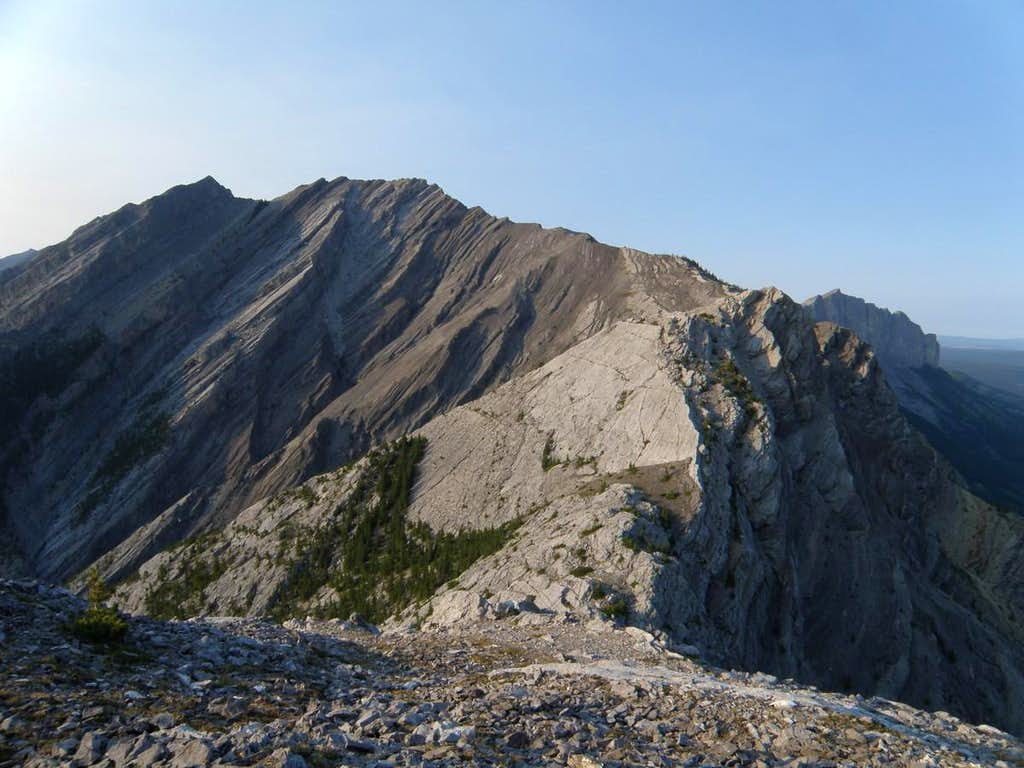 Goat Traverse - Un-named to Loder from South