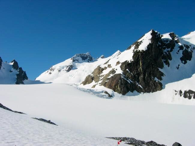 Blue Glacier in early May...