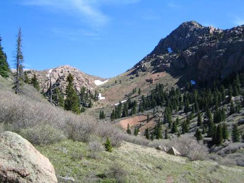 From the West Fork Trail,...
