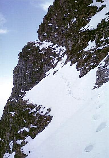 Reynolds Mountain<br> North Face & East Couloir Route