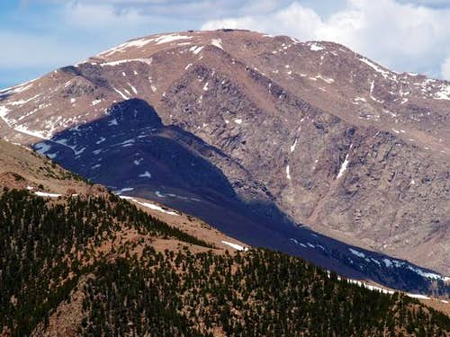 Pikes Peak from Summit of Mt....