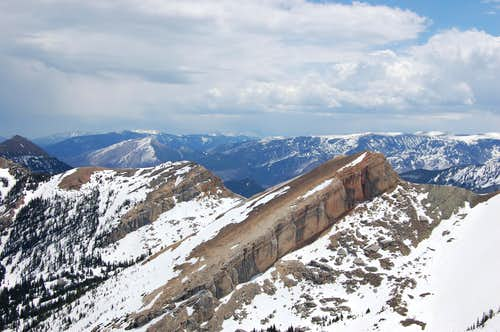 Elephanthead mt from point 9470\'
