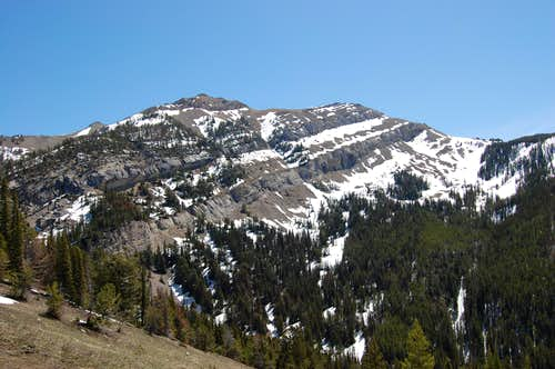 Point 9470', Absaroka Range (MT)
