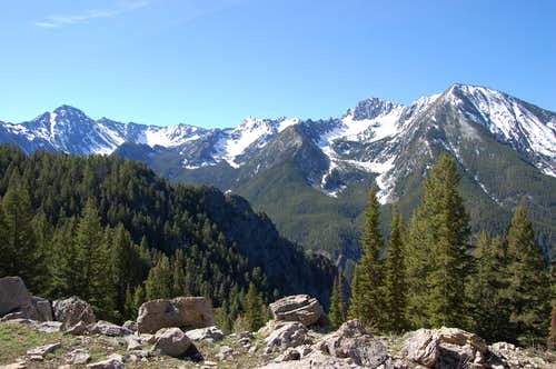 Mount Delano, Absaroka-Beartooth Wilderness, MT