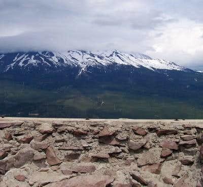 6-9-04 Looking at Mt. Shasta...