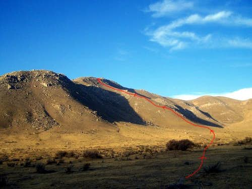Onyx Peak Route