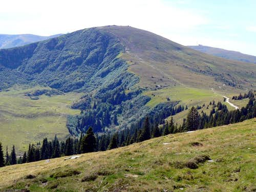 The Koralpe in summer