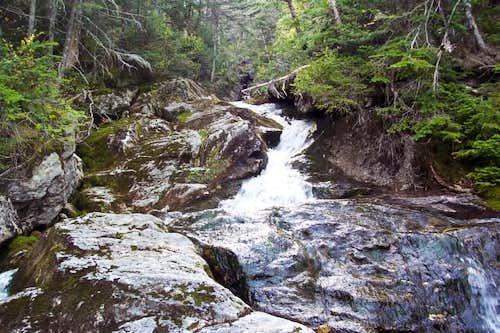 A brook that follows the...