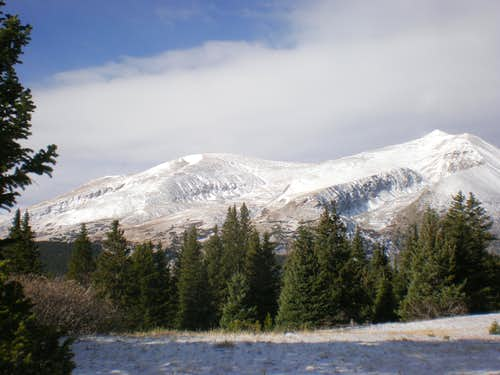 Mount Bross and Mount Lincoln