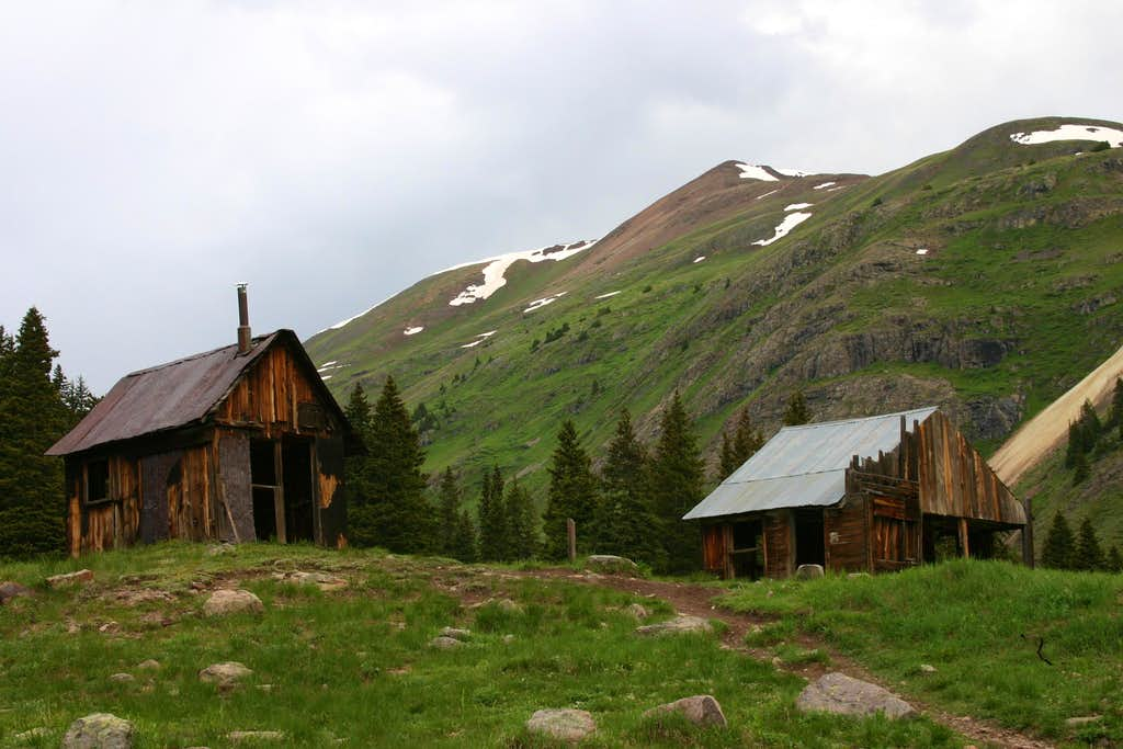 North face from Animas Forks