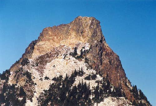 Kaleetan Peak\'s upper south...